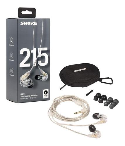 Fone Shure Se215 Se 215 In Ear Earphones Original