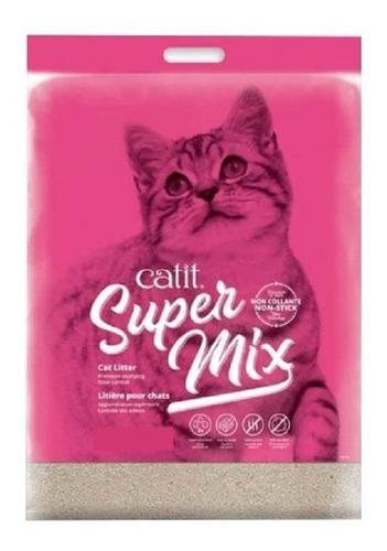 Arena Aglomerante Litera Gatos Catit Super Mix 3.5kg Nuevo