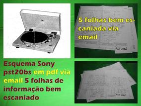 Esquema Sony Ps T20bs Ps T120 Pst120 Pst 120bs Em Pdf