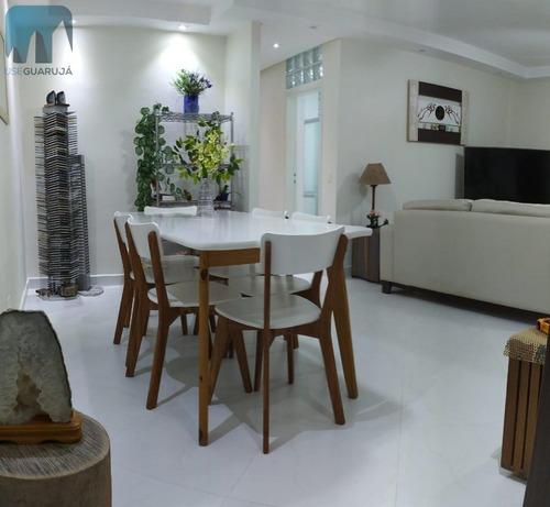 Imagem 1 de 12 de Apartamento A Venda No Bairro Barra Funda Em Guarujá - Sp.  - 978-1