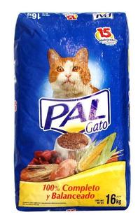 Pal Alimento Para Gato Bulto 16 Kg