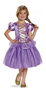 Disfraz Enredado Rapunzel Classic Disney Princess Small46x O