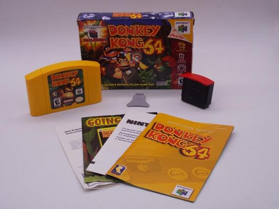 Donkey Kong 64 Nintendo 64 Original Física Ler Descrição