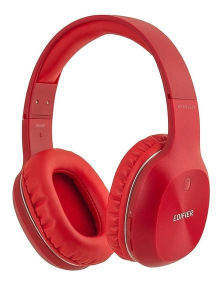 Fone de ouvido sem fio Edifier W800BT vermelho