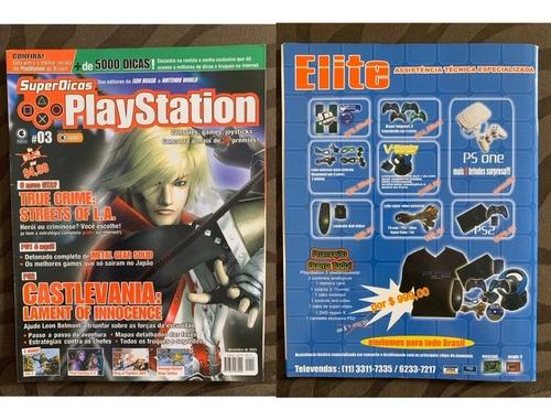 Revista Superdicas Playstation Número 3