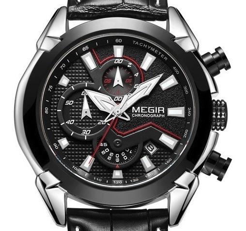 Relógio Masculino Original Megir 2065 Executivo Promoção