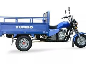 Yumbo Cargo 125 Triciclo 100% Financiado 36 Cuotas!