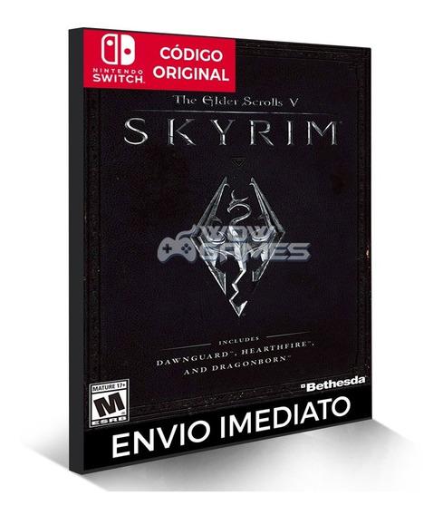 The Elder Scrolls V: Skyrim - Nintendo Switch Código Eshop S