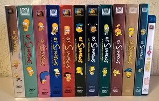 Os Simpsons - Coleção Da 1ª A 11ª Temporada - Dvd