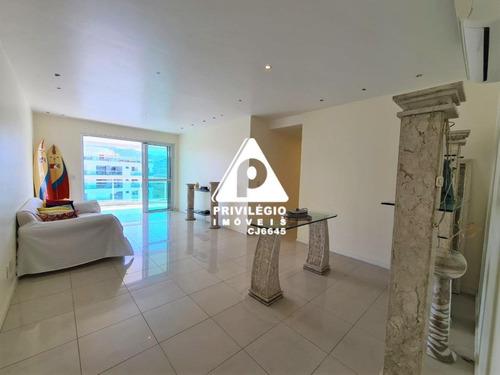 Apartamento À Venda, 3 Quartos, 3 Suítes, 2 Vagas, Barra Da Tijuca - Rio De Janeiro/rj - 27088