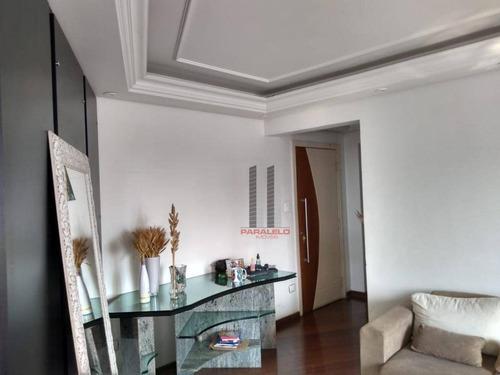 Apartamento Com 3 Dormitórios, 110 M² - Venda Por R$ 700.000,00 Ou Aluguel Por R$ 3.800,00/mês - Parque Da Mooca - São Paulo/sp - Ap2795