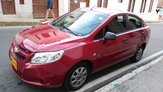Chevrolet Sail Lt 1400 2015 Rojo Velvet