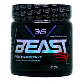 Beast Pre-workout 300g Frutas Vermelhas