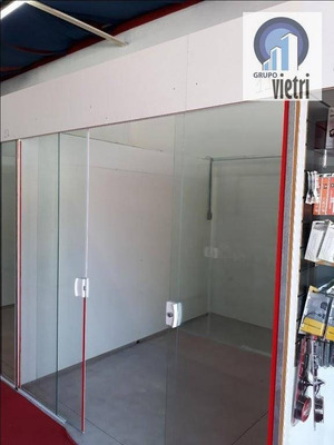 Alugo Box Comercial Com Estrutura, Pirituba, Centro Comercial - Gr0003