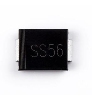 Diodo Schottky Ss56 Sk56 Sr560 Ss56b 60v 5a