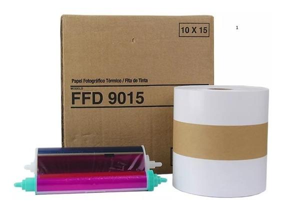 Papel E Ribbon 10x15 Mitsubishi Ffd 901 / Ck9015