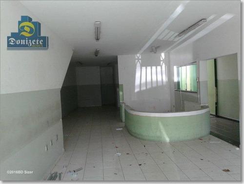 Prédio À Venda, 487 M² Por R$ 1.300.000,00 - Casa Branca - Santo André/sp - Pr0013