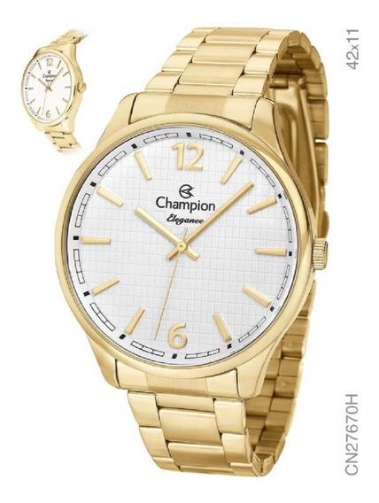 Relógio Analógico Unisex Social Champion Cn27670h