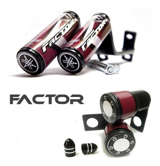 Slider Factor 150 E 125 Protetor Motor E Brinde