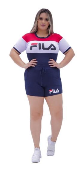 Conjunto Blusa E Short Varios Modelos Plus Size Instagran