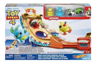 Buzz Lihtgyear Rescate En La Feria Toy Story