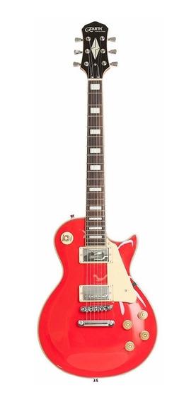Guitarra Les Paul Earth Music Elp20 Metallic Red - Gt0277