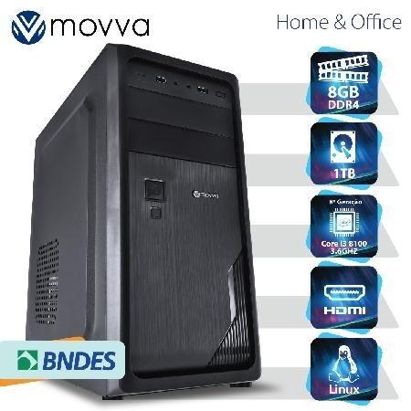 Computador Mercury Intel I3 8100 8ªger 8gb 1tb Fonte 350w