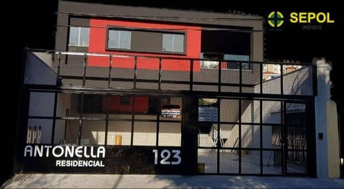 Apartamento Com 2 Dormitórios À Venda, 43 M² Por R$ 230.000,01 - Vila Antonina - São Paulo/sp - Ap0766