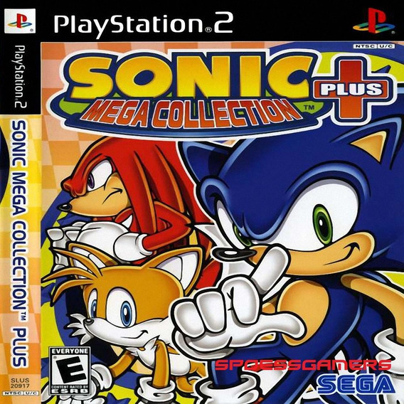 Sonic Mega Collection Plus Ps2 Desbloqueado Patch