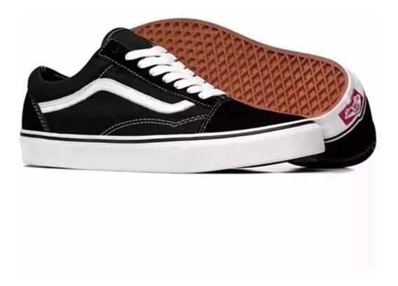 Tenis Sapatenis Vans Old Skool Original Masculino Feminino Unissex Super Reforçado Conforto Estilo Skate Envio Imediato.