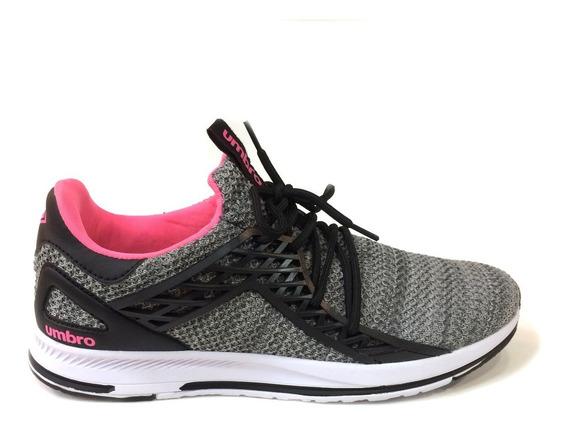 Zapatos Umbro Originales Damas - Um16760w - Black Fucsia