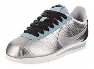 Zapatillas Nike Cortez Plateadas