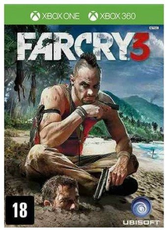 Game - Far Cry 3 - Xbox One E Xbox 360 (mídia Física)