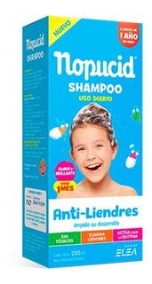 Nopucid Uso Diario Shampoo 200ml