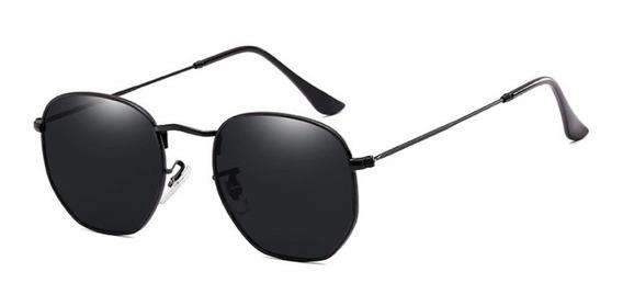 Óculos Hexagonal Feminino Masculino Promoção Retro