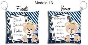 30 Lembrancinhas Chaveiro Almofada Chá De Bebê Maternidade