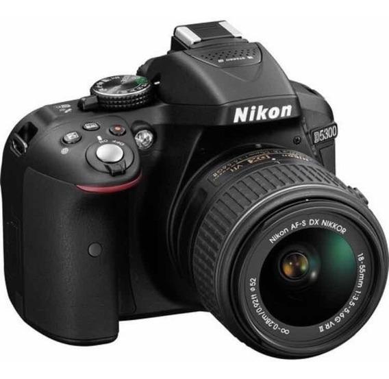 Nikon D5300+lente 18-55mm