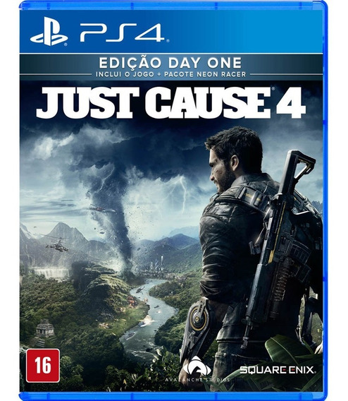 Just Cause 4 - Ps4 - Mídia Física