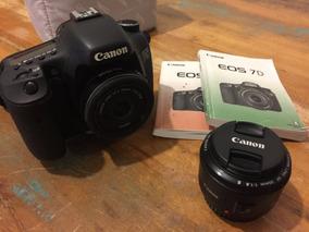 Canon Eos 7d + Lente 50mm 1:1:8 E Lente Pancake 24mm
