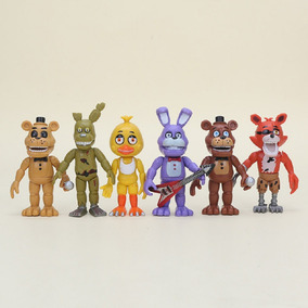 Five Night Freddy Fnaf Bonecos Brinquedo Infantil De Criança