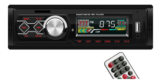 Magideal Carro Rádio Bluetooth Mp3 Player Handsfree Control