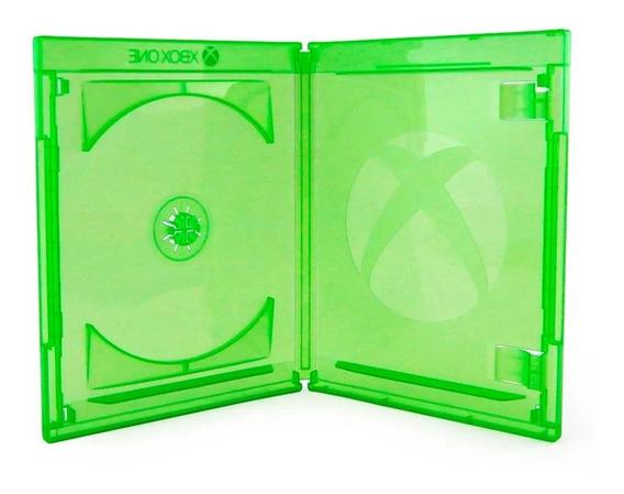10 Un Estojo Box Verde Xbox One Videolar Original