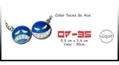 Colar Faces De Ace 025