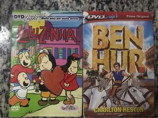 Dvd Filmes Infantis - Clube Da Luluzinha E Ben Hur - Filme