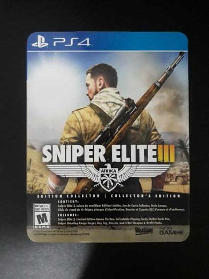 Sniper Elite Ps4 Edição Colecionador Usado