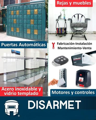 Imagen 1 de 10 de Reparación De Motores De Puerta - Puertas Garage Automáticas