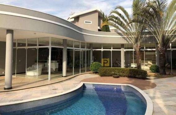 Casa Com 4 Dormitórios À Venda, 523 M² Por R$ 2.500.000,00 - Condomínio Terras Do Imperador - Americana/sp - Ca0562