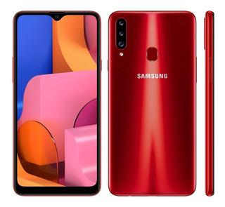 Celular Samsung Galaxy A20s Dual 6.5 4g 32gb A207 Vermelho
