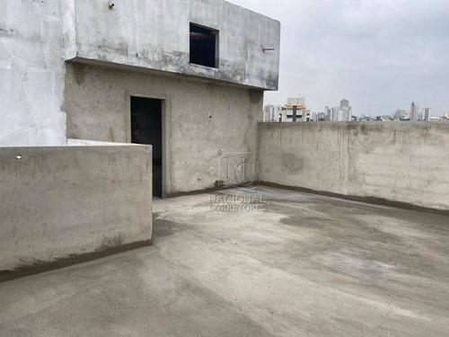 Cobertura Com 2 Dormitórios À Venda, 98 M² Por R$ 330.000,00 - Santa Teresinha - Santo André/sp - Co5188