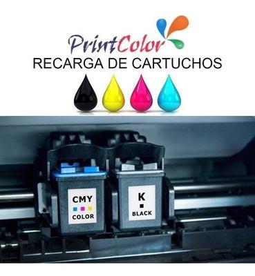 Recarga De Cartuchos Hp / Canon / Lexmark Consulte Modelos